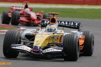 Renault nog steeds achter BMW-Sauber
