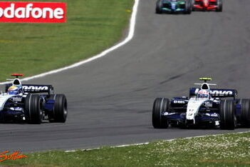Geen punten voor Williams tijdens thuisrace
