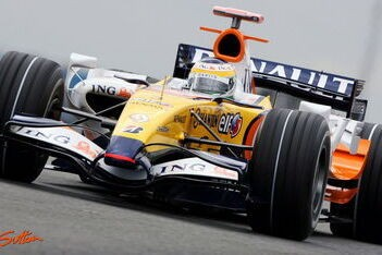 Renault optimistisch na driedaagse testsessie