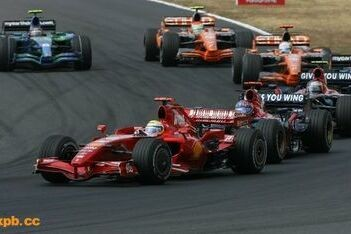 """Massa: """"Een vreselijke race"""""""