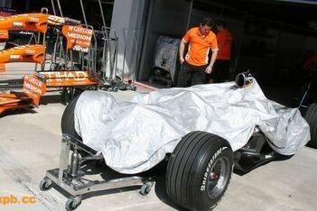 B-versie Spyker komt niet door crashtests