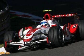 Super Aguri niet zonder problemen in Monza