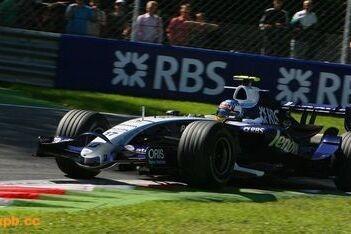 Rosberg snel onderweg in de Williams