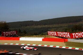 Toyota maakt sterke indruk op Spa-Francorchamps