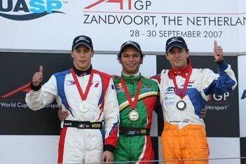 Zaugg wint sprintrace in Zandvoort