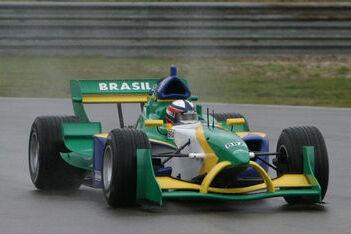 Fittipaldi gaat A1GP-auto van Ferrari testen
