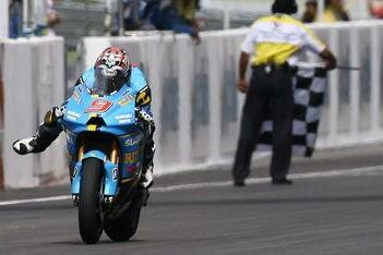 Geslaagd debuut voor 2008-Suzuki