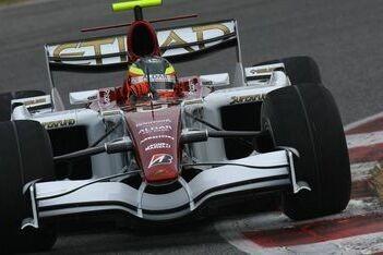 Force India tevreden over eerste testdag