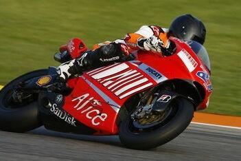 Rossi onder de indruk van MotoGP-test Schumacher