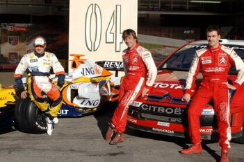 Kovalainen en Loeb wisselen van auto