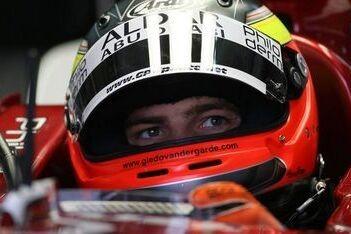 Van der Garde in 2008 bij P1 Motorsport