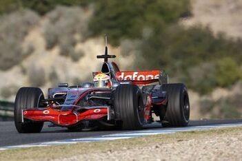 McLaren sluit eerste test met MP4-23 af