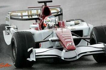 Sutil in actie tijdens laatste testdag Force India