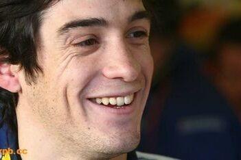 Parente geniet van eerste Formule 1-test