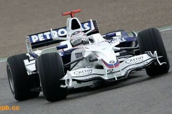 Klien rijdt eerste ronden voor BMW-Sauber