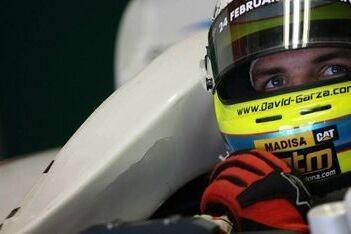 Garza rijdt thuisraces voor Team Mexico