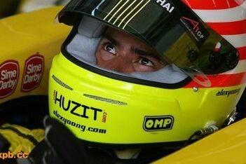 Yoong terug in de auto bij Team Maleisië