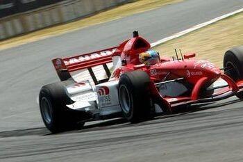 Wickens start hoofdrace vanaf pole-position