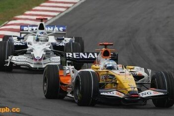 Laatste puntje voor Alonso op Sepang