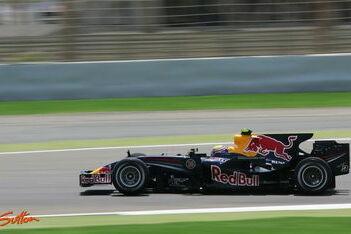 Webber opnieuw sterkste Red Bull-coureur