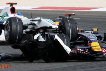 Punten voor Webber, schade voor Coulthard