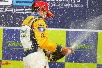 Parente wint debuutrace in GP2