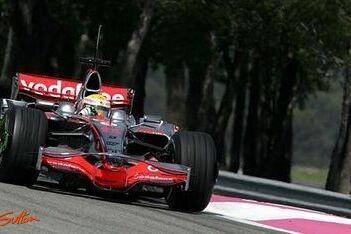 Hamilton snelste tijdens eerste dag Paul Ricard