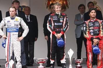Van der Garde tweede in straten Monaco