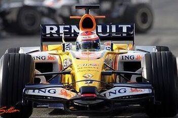 Grosjean in actie voor Renault op eerste dag