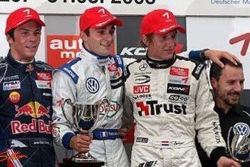 Mallieux wint race 2, Van der Zande fraai derde