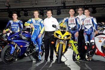 Yamaha-rijders wonen lancering R1 bij in Las Vegas
