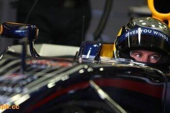 Vettel maakt testkilometers voor Red Bull