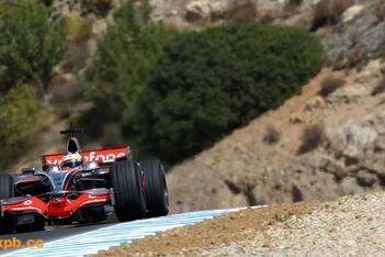 De la Rosa snelste op laatste testdag Jerez
