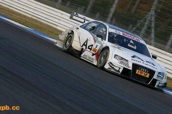 Audi leidt de dans in warm-up Hockenheim