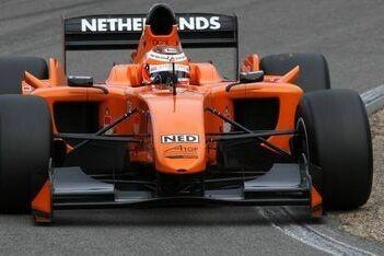 Retera nieuwe rookierijder A1 Team Nederland
