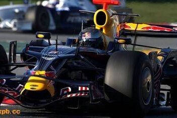 Vettel ook snelste tijdens laatste testdag Barcelona