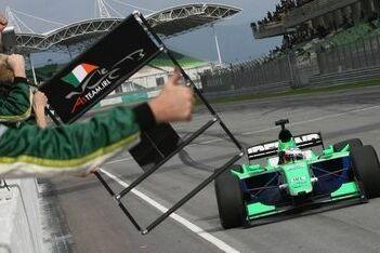 Carroll wint in Maleisië, Bleekemolen in de punten
