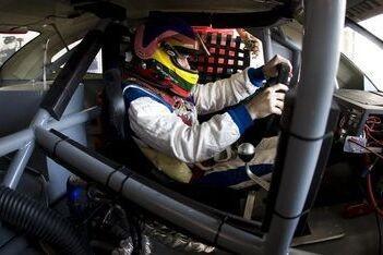 Villeneuve snelste in Speedcar-testsessie