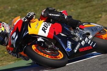 Pedrosa naar snelste tijd op eerste dag Jerez