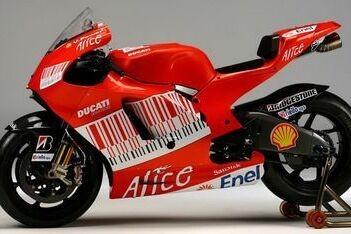 Ducati presenteert de Desmosedici GP9