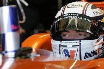 Doornbos zeker van racestoeltje in IndyCars