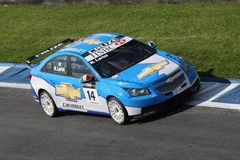 Larini en Monteiro bestraft na race 1 Curitiba