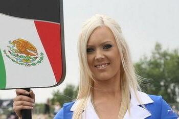 A1GP plant seizoensfinale in Mexico
