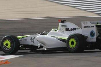 Button verbrand tijdens Grand Prix in Bahrein