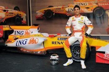 Khan test nieuwe aërodynamica voor Renault