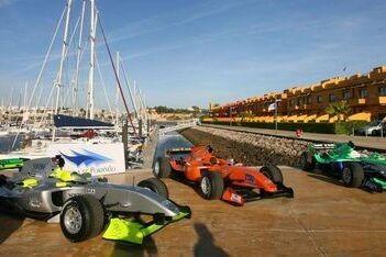 A1GP erg tevreden over eerste jaar met Ferrari-auto