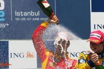 Di Grassi wint sprintrace op Istanbul Park