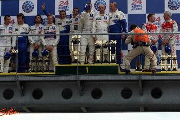 Le Mans-zege voor Wurz, Gene en Brabham