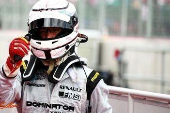 Zuber blij met tweede plaats in sprintrace Silverstone