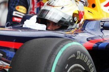 """Vettel: """"Mijn laatste ronde was niet goed genoeg"""""""